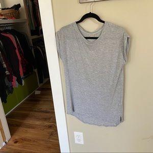 Twik Long T-shirt grey stretchy size medium